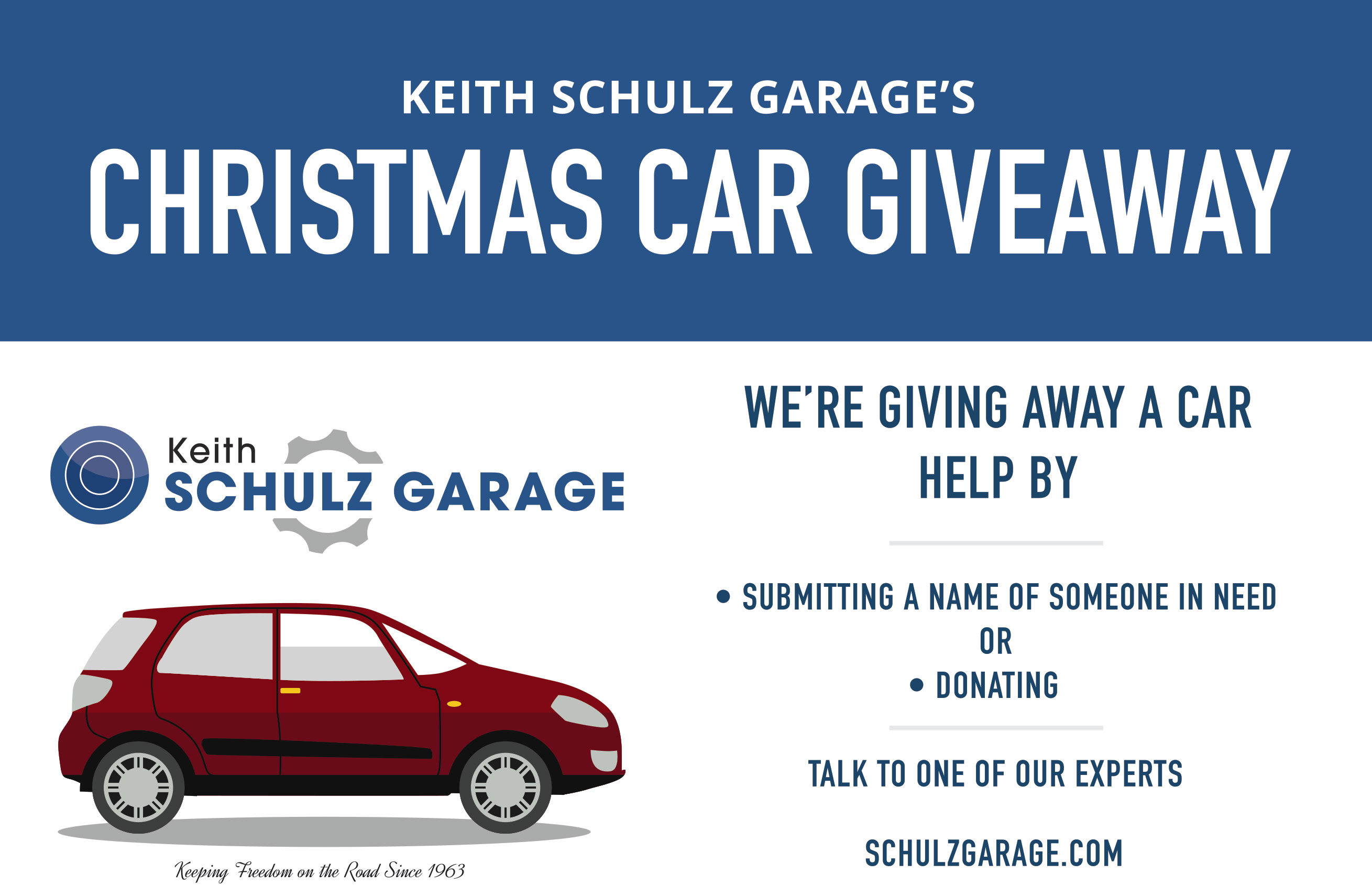 Car Giveaway 2017 >> Keith Schulz Garage Ksg Car Giveaway 2017 1