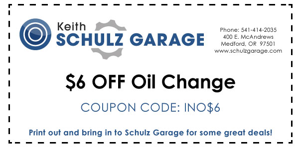 $6 off Oil Change INO$6