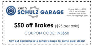 $50 off breakes ($25 per axle) INB$50