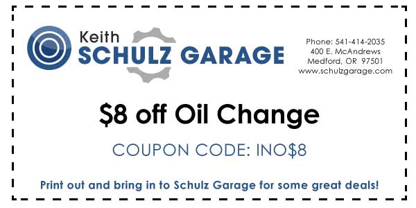 $8 off Oil Change INO$8