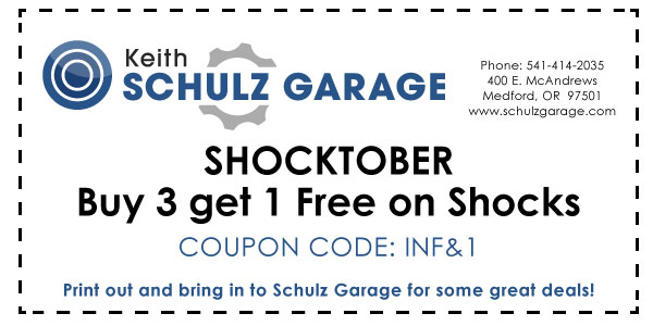 Shocktober Buy 3 get 1 Free on Shocks INF&1