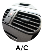Image of car's air conditioning vent