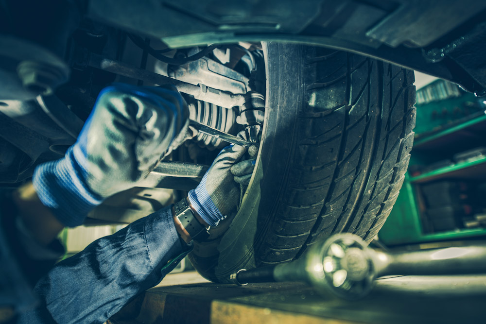 Steering system auto repair